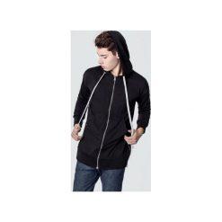 Bejsbolówki męskie: Bluza bawełniana z kapturem i suwakami Basic Black