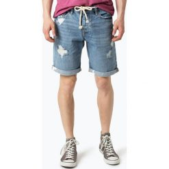 Bermudy męskie: Review - Męskie spodenki jeansowe, niebieski