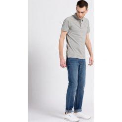 Lee - Jeansy rider. Niebieskie jeansy męskie slim marki Lee, z aplikacjami, z bawełny. W wyprzedaży za 199,90 zł.