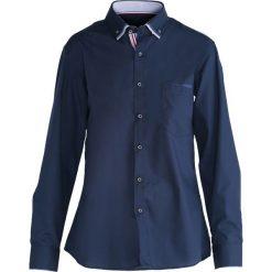 Koszule męskie: Granatowo-Niebieska Koszula Work Of Art