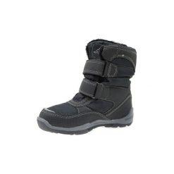 Śniegowce Dziecko Kappa  Tundra Tex K 260484K-1111. Czarne buty zimowe chłopięce Kappa. Za 139,99 zł.