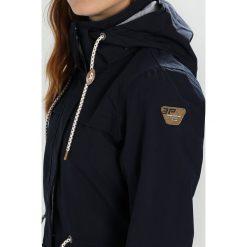Icepeak LEONA Kurtka przeciwdeszczowa dark blue. Niebieskie kurtki damskie turystyczne marki Icepeak, z materiału. W wyprzedaży za 407,20 zł.