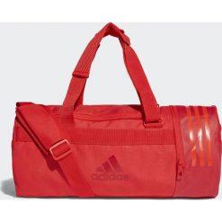 Torby podróżne: Adidas Adidas Torba Convertible 3-Stripes Duffel Small Czerwony