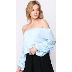 Niebieska Bluzka 6 Months. Niebieskie bluzki damskie Born2be, s. Za 59,99 zł.