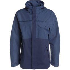 Schöffel JACKET SAN JOSE Kurtka Outdoor dark blue. Niebieskie kurtki trekkingowe męskie Schöffel, m, z materiału. W wyprzedaży za 503,40 zł.