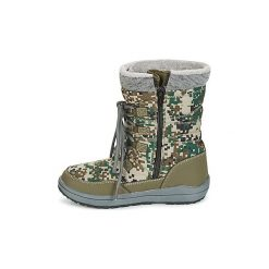 Śniegowce Dziecko Kangaroos  LORE. Zielone buty zimowe chłopięce KangaROOS. Za 279,20 zł.