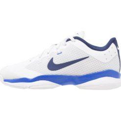 Buty sportowe damskie: Nike Performance AIR ZOOM ULTRA CPT Obuwie do tenisa Indoor white/binary blue/mega blue