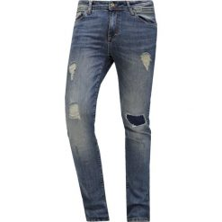 Pier One Jeansy Slim Fit destroyed denim. Szare jeansy męskie marki Pier One. Za 169,00 zł.