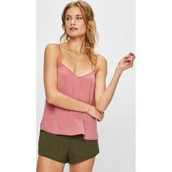 Undiz - Top piżamowy. Różowe piżamy damskie marki Undiz, l, z poliesteru. W wyprzedaży za 39,90 zł.