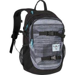 """Plecak """"School"""" w kolorze czarno-szarym - 30 x 48 x 18 cm. Czarne plecaki męskie Chiemsee Bags, w paski. W wyprzedaży za 152,95 zł."""