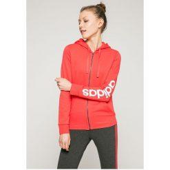 Adidas Performance - Bluza. Czerwone bluzy z kapturem damskie marki adidas Performance, m. W wyprzedaży za 179,90 zł.