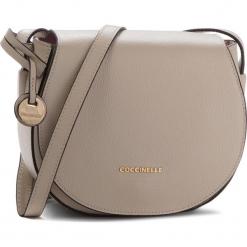 Torebka COCCINELLE - DF8 Clementine Soft E1 DF8 15 02 01 Seashell N43. Brązowe listonoszki damskie Coccinelle, ze skóry. Za 999,90 zł.