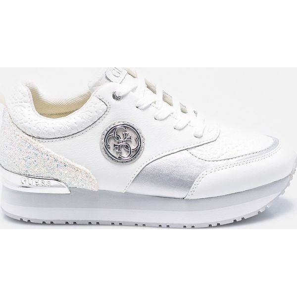 c6f626bd6f9cc Guess Jeans - Buty - Białe buty sportowe damskie Guess Jeans