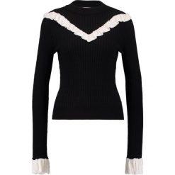 Swetry klasyczne damskie: Navy London CONSTANCE Sweter black