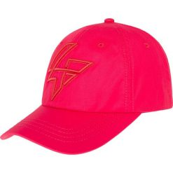 Czapka męska CAM203 - czerwony. Czerwone czapki męskie 4f, z nadrukiem, z materiału. Za 24,99 zł.