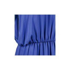 Sukienki krótkie Naf Naf  KEZIA. Niebieskie sukienki mini marki NAF NAF, z krótkim rękawem. Za 231,20 zł.