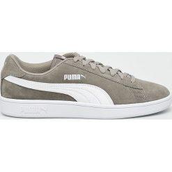 Puma - Buty Smash v2. Szare halówki męskie Puma, z gumy, na sznurówki. Za 249,90 zł.