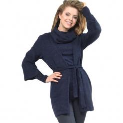 Zestaw w kolorze niebieskim - bluzka, kardigan. Niebieskie kardigany damskie Lila Kass, xxs. W wyprzedaży za 259,95 zł.