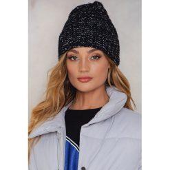 Czapki zimowe damskie: Rut&Circle Zawijana czapka Tilda - Black