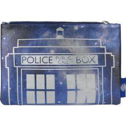 Doctor Who Galaxy Tardis Kosmetyczka wielokolorowy. Szare kosmetyczki damskie Doctor Who, z napisami. Za 62,90 zł.