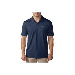 Golfy męskie: Polo do golfa Adidas granat