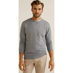 Mango Man - Bluza Nola3. Szare bluzy męskie rozpinane marki Mango Man, l, z bawełny, bez kaptura. W wyprzedaży za 69,90 zł.