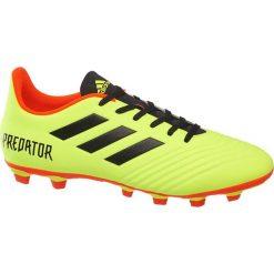 Buty piłkarskie adidas Predator 18.4 FG adidas żółte. Czarne buty sportowe męskie marki Nike, z materiału, nike tanjun. Za 167,00 zł.