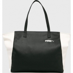 Puma - Torebka. Czarne torebki klasyczne damskie Puma, z materiału, duże. W wyprzedaży za 159,90 zł.