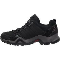 Adidas Performance BRUSHWOOD Obuwie hikingowe core black/granit. Czarne buty sportowe męskie adidas Performance, z materiału, outdoorowe. W wyprzedaży za 311,20 zł.