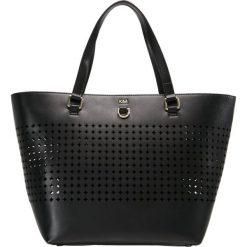 Karen Millen CIRCLE COLLECTION Torebka black. Czarne torebki klasyczne damskie marki Kazar, w paski, ze skóry, zdobione. W wyprzedaży za 471,20 zł.