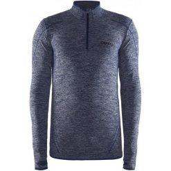 Odzież termoaktywna męska: Craft Koszulka Męska  Active Comfort Zip Ls Niebieska L