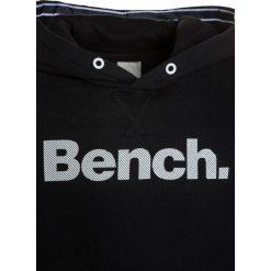 Bench CORE HOODY Bluza z kapturem schwarz. Czarne bluzy chłopięce rozpinane marki Bench, z bawełny, z kapturem. W wyprzedaży za 126,75 zł.