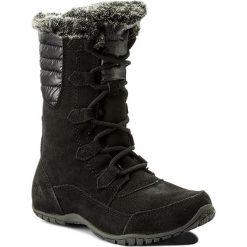 Śniegowce THE NORTH FACE - Nuptse Purna II T932Y7YXW Tnf Black/Beluga Grey. Czarne buty zimowe damskie The North Face, z gumy. W wyprzedaży za 449,00 zł.