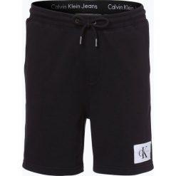 Jeansy męskie: Calvin Klein Jeans - Spodnie dresowe męskie, czarny