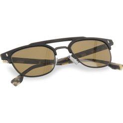 Okulary przeciwsłoneczne damskie aviatory: Okulary przeciwsłoneczne BOSS – 0968/S Matt Black 003