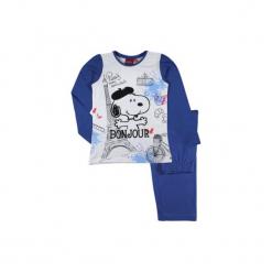 Piżama dziewczęca Snoopy z printem. Białe bielizna dziewczęca marki Reserved, l. Za 32,99 zł.