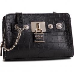 Torebka GUESS - HWCG71 82140 BLACK. Czarne torebki klasyczne damskie Guess, z aplikacjami, ze skóry ekologicznej. Za 559,00 zł.