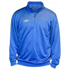Bejsbolówki męskie: Umbro Bluza Adnan Trng 1/2 Zip Blue L
