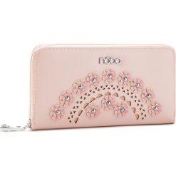 Duży Portfel Damski NOBO - NPUR-E0010-C004 Różowy. Czerwone portfele damskie Nobo, ze skóry ekologicznej. W wyprzedaży za 99,00 zł.
