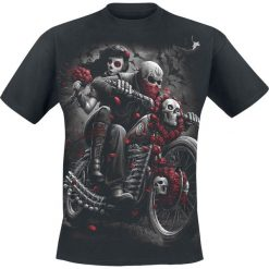 T-shirty męskie: Spiral DOTD Bikers T-Shirt czarny