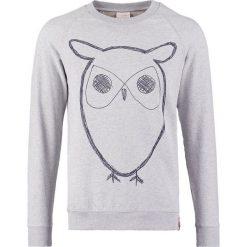Bejsbolówki męskie: Knowledge Cotton Apparel BIG OWL Bluza grey melange