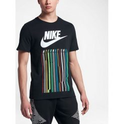Nike Koszulka męska NK INTL TEE 1 czarna r. L (847443-010-S). Czarne koszulki sportowe męskie marki Nike, l. Za 329,89 zł.