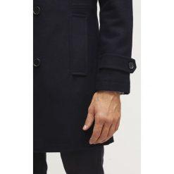 Pier One Krótki płaszcz navy. Niebieskie płaszcze wełniane męskie marki Pier One, m. Za 529,00 zł.