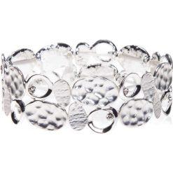 Bransoletki damskie: Srebrna bransoletka z metalowych elementów QUIOSQUE