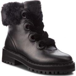 Trapery LIU JO - Pink 01 S68089 P0102 Black 22222. Czarne buty zimowe damskie Liu Jo, z materiału. Za 1079,00 zł.
