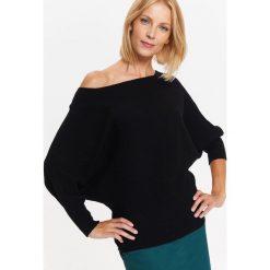 Swetry klasyczne damskie: SWETER DAMSKI Z RĘKAWEM KIMONOWYM
