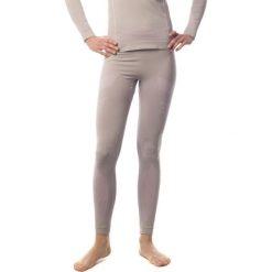 Bryczesy damskie: Spaio Spodnie termoaktywne damskie Thermo W03  Light Grey/Pink r. XL