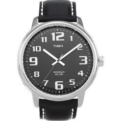 Timex - Zegarek T28071. Czarne zegarki męskie marki Fossil, szklane. W wyprzedaży za 249,90 zł.