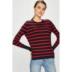 Only - Sweter. Szare swetry klasyczne damskie ONLY, m, z dzianiny, z okrągłym kołnierzem. Za 119,90 zł.
