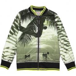 Kurtka Respect w kolorze zielono-czarnym. Czarne kurtki chłopięce marki Retour Denim de Luxe. W wyprzedaży za 152,95 zł.